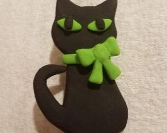 Check Me-owt! | Cat brooch
