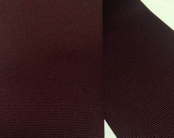 "3 inch MAROON GROSGRAIN Ribbon - Big Ribbon for Cheer Bow Making - 3"" grosgrain"