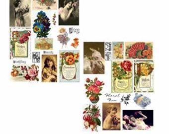 Floral Fun Collage Set