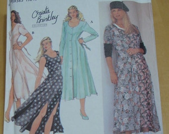 Simplicity 8926 Christie Brinkley fit and flared dress sewing pattern sizes 6 8 10 UNCUT