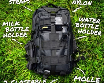 The 24 Hour Ultimate Diaper Bag for Dads