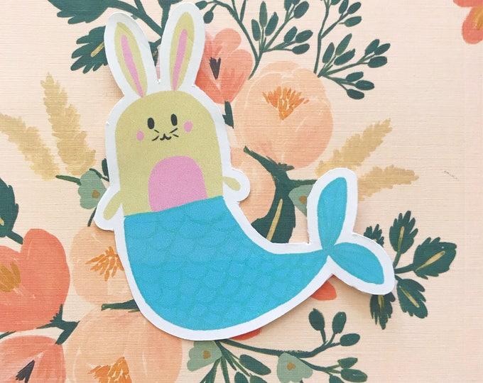 Mermaid Bunny Die Cut