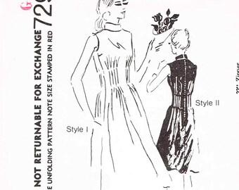 Vintage 1971 Spadea Designer Pattern Np.72980 Sz. 8 Bust 32  FF Uncut