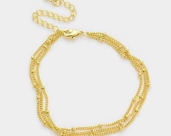 Gold Knot Bracelet