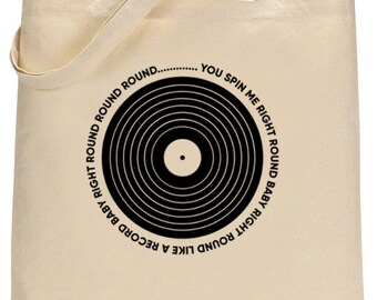 Dead or Alive tote bag - You Spin Me Round