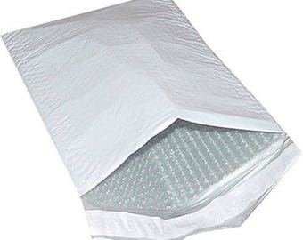 10 x  Poly Bubble Padded Envelopes Mailers 9 X 12 inch  ( usable space 8 1/2 x 11 inch) Self Sealing