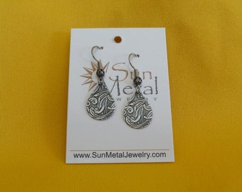Cry me a river antique silver earring (Style #284A)