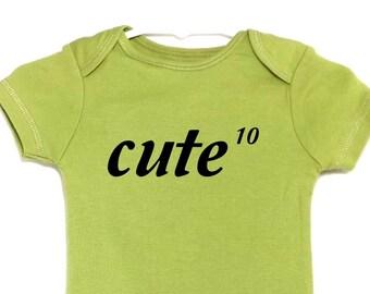 Lustige Baby Body Body mathematische macht der süßen