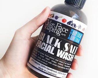 Charcoal soap-face wash-detox facial-natural face soap-vegan soap-natural clay soap-detox facial-acne wash-charcoal mask-natural soap