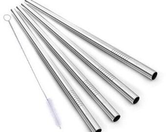 4 yeti stainless steel Straws for Yeti 30oz rambler