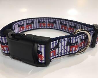 Democrat Dog Collar/Leash