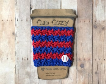 Texas Rangers, Coffee Sleeve, Cup Cozy, Cup Holder, Coffee Cup Cozy, Cup Sleeve, Coffee Cozy, Coffee Cup Sleeve, Reusable Coffee Sleeve