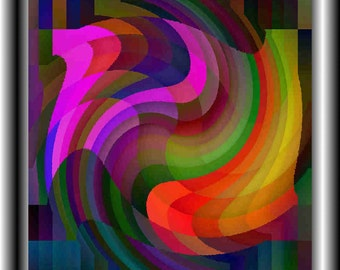 SWIRL Limited Edition Giclee