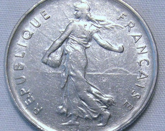 1971 5 Francs French Coin