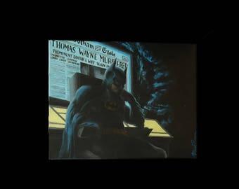 Batman Reflecting