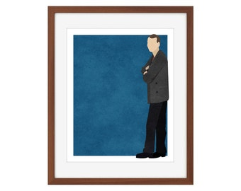 Doctor Who print - the Ninth Doctor/Christopher Eccleston