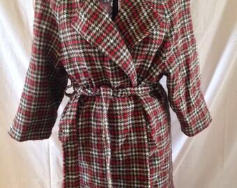 1980s winter skirt suit