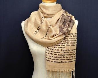 Jane Eyre by Charlotte Brontë  Scarf/Shawl