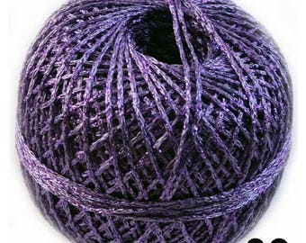 Purple Metallic Yarn, Metallic Yarn, Putple Yarn, Brocat Yarn, Glitter Yarn, Shinning Yarn, Sparkle Yarn, Knitting Yarn, Crochet Yarn