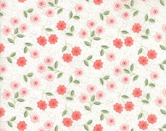 Moda - Nest by Lella Boutique - Eggshell Blush - 5062 11 - 100% cotton fabric - Fabric by the yard(s)