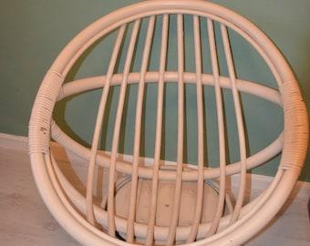 EGG chair years ' 70/vintage rattan chair