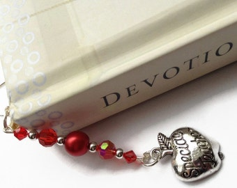 Teacher Bookmark, Special Teacher Charm, Teacher Gift, Gift Idea, Sale