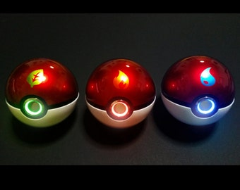 Starter Pokeball with Ringlight, ULTIMATE COLLECTOR Item.