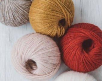 Baby Alpaca Yarn, Alpaca yarn, Wool yarn, Alpaca and Merino yarn, Italian yarn