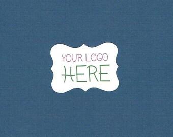 Aufkleber, selbst Aufkleber, Logo Aufkleber-Set mit 40, gedruckten Aufkleber, Business-Aufkleber, verzierten Sticker