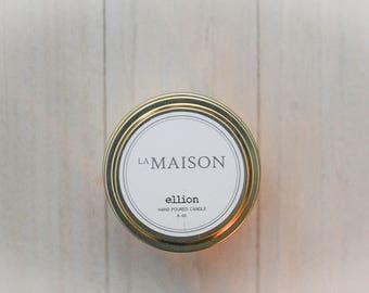 La Maison ellion travel candle - 6 oz.
