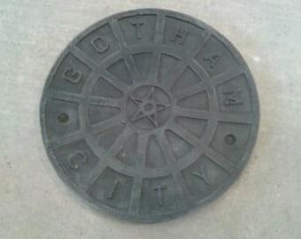 Gotham City Manhole cover