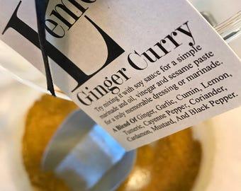 Lemon Ginger Curry