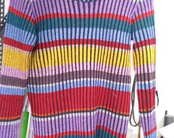 Merino Wool multicolor Pull