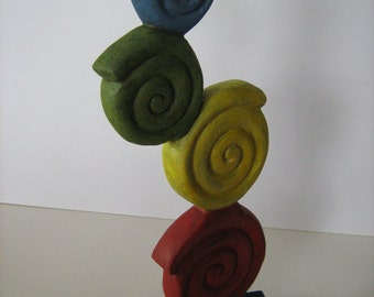Up Cycled - Shabby Chic Sculpture