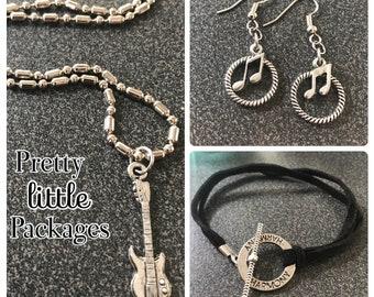 Harmony ~ Guitar ~ Rockstar Jewelry Bundle