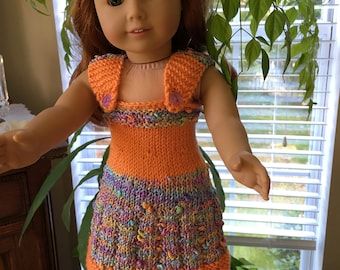 """My favorite  dress  with bolero for your  favorite  AG doll or any 18"""" doll"""