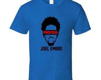 Joel Embiid Trust The Process Popular Philadelphia 76ers Fan T Shirt