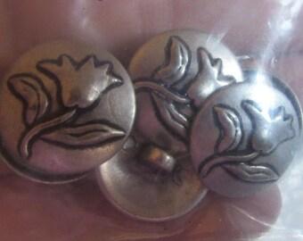 flower buttons 2