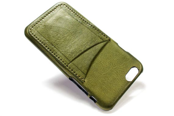 NEW iPhone X 8 and 8 Plus Italian Leather Case for iPhone 7/6S/Se/5S to two vertical cards slots Choose the DEVICE and COLORS