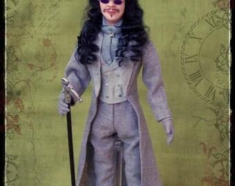 PRINCE VLAD ooak 1:12 doll by Soraya Merino