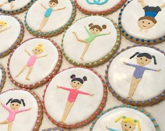 Gymnasitcs Sugar Cookies (One Dozen)