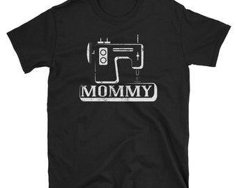 Sewing Mom Grandma Mommy Sewing Machine T Shirt