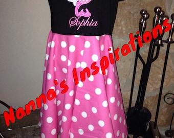 Custom made Minnie dress