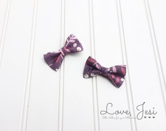 Mini Bow Clips, Baby Hair Clips, Little Girls Hair Clips, Girls Hair Accessories, Mini Hair Bows, Toddler Hair Clips, Toddler Bow Clips, Bow