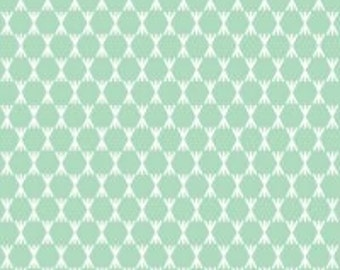Foxglove Stem Dot Turquoise from Foxglove Collection by Aneela Hoey for Cloud 9 Fabrics