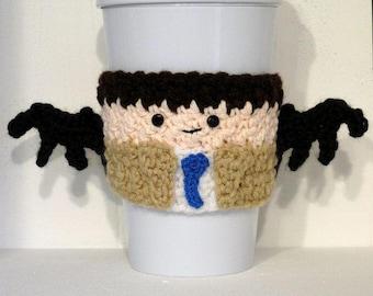 Gehäkelte Castiel übernatürliche Tasse Kaffee gemütlich