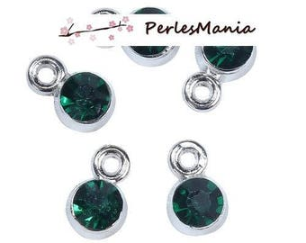 PAX 30 pendant medallions FACETED round 6mm S1192970
