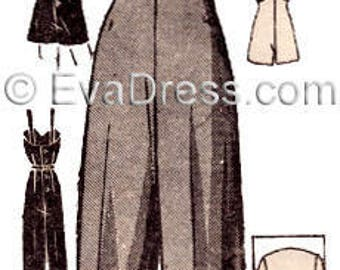 1940's Overalls or Playsuit and Jacket E-Pattern by EvaDress