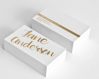 Golden business card template hair stylist business card design gold business card printable custom business cards, digital, graphic design