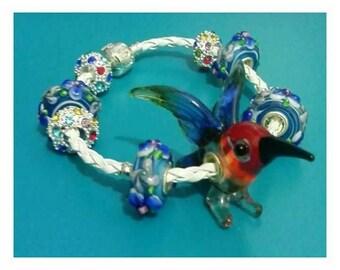 Hand made glass jewellery